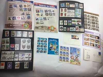 U.S. postage Celebrate the Century first stamp sheets  Estate Collection Lot