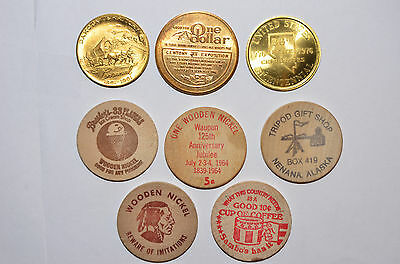 Lot Of 8 Tokens