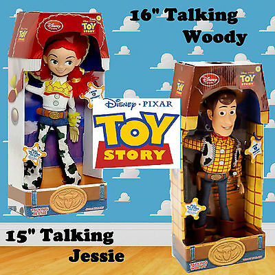 Woody Toy Story 3 Pull String JESSIE 38CM Talking Action Figure Doll Kid Toys UK