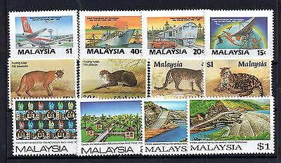 Malaysia Collection 1987 4 x mint MNH sets WS5008