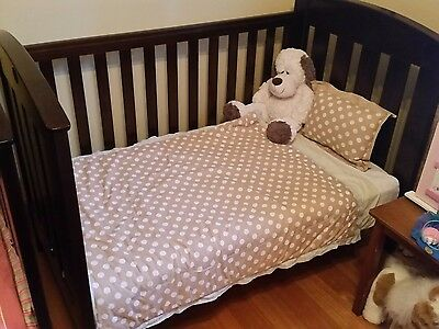 Boori Country Collection Cot/ Bed- English Oak