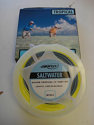 New Airflo Sniper Tropical Permit Bonefish Tarpon Fly Line 7 8 9 10 11 12wt