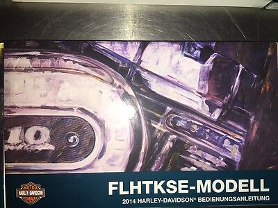 2014 Harley-Davidson FLHTKSE Owners Manual German 99473-14DE