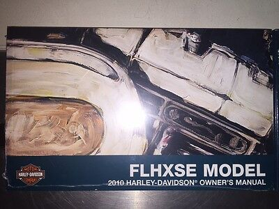 2010 Harley-Davidson FLHXSE Owners Manual 99577-10
