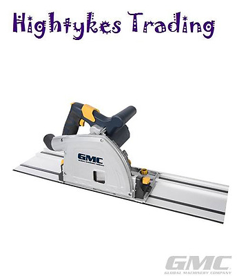 240V PLUNGE CUT SAW & 1400mm GUIDE TRACK KIT circular 336282