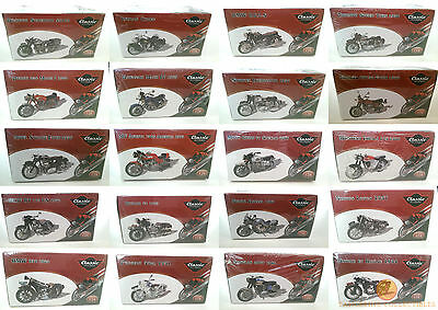 Atlas Editions Classic Motorbikes 1:24 Choice Of 21 New Factory Sealed Models