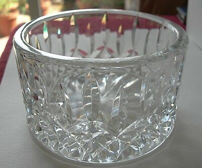 """Nice Quality 5-1/4"""" Waterford Crystal Lismore Cut Champagne Wine Bottle Coaster"""