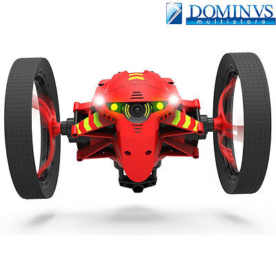 Parrot Jumping Night Marshall Drone Rosso Minidrone Con Luci a Led e Camera