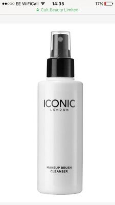 Iconic London Makeup Brush Cleanser Spray