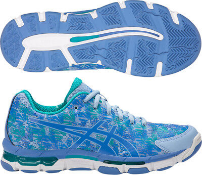 Asics Gel Netburner Professional 13 Ladies Netball Shoes - Blue