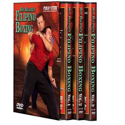 Cold Steel Ron Balicki Filipino Boxing Dvd Set Features VDFB