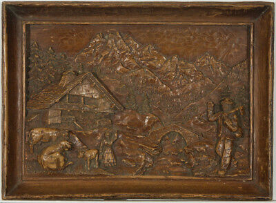 Black Forest Type Plaque