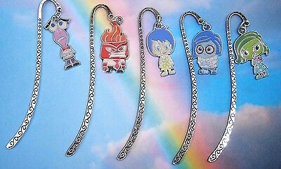Inside Out Character Charm Bookmark Anger Fear Joy Sadness Disgust In Gift Bag