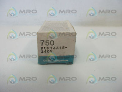 Potter & Brumfield Kup-14A15-240 Relay 240V *new In Box*