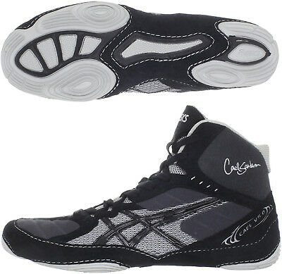 Asics Cael V5.0 Mens Wrestling Shoes - Black