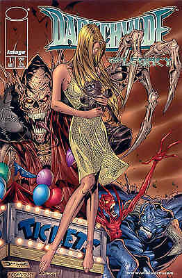 Darkchylde: The Legacy Mini (1998) Image Comics Issues 1,2,3