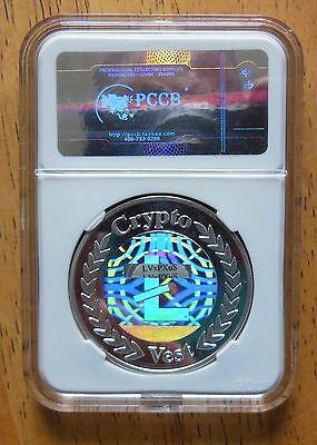 Special Edition Physical Cryptovest LiteCoin #578  Funded ONLY 800 exist