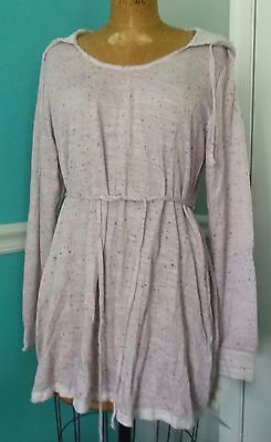 Motherhood Oh Baby Bump Style Lilac Sweater Hoodie Long Sleeves - X-Large - Nwt