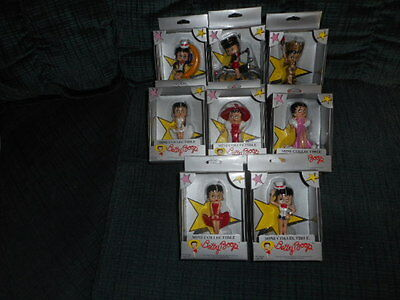 BETTY BOOP COLLECTIBLE MINI'S..MIP..Total of m8