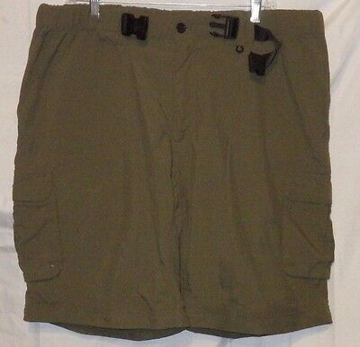 BOY SCOUTS OF AMERICA Mens Large Uniform Shorts Cargo Switchback BSA Green GUC