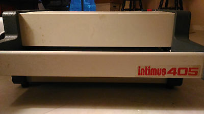Industrial Heavy Duty Shredder Intimus 405 A REAL WORKHORSE MADE IN GERMANY