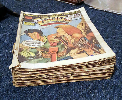 2000ad job lot - Various issues.