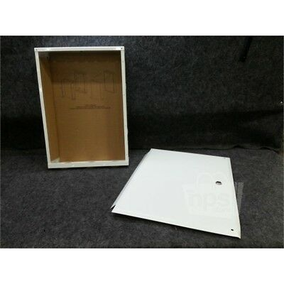 "On-Q Legrand EN2050 Enclosure With Hinged Door, 20.1""x 14.3""x3.7"", White"