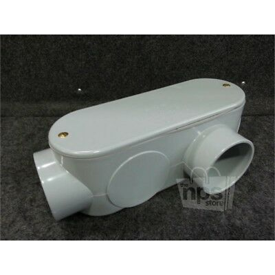 Scepter 078159 3in PVC Conduit Body with Cover