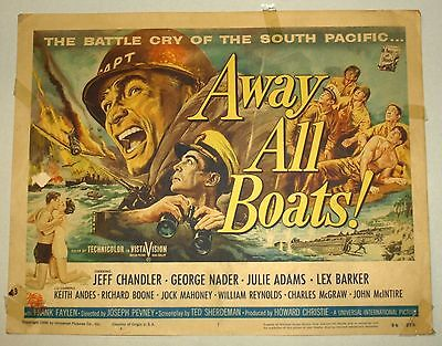 Theatre Lobby Card - Away All Boats