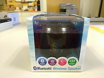 NEW iLive Bluetooth Wireless Speaker Portable ISB14 LED Color Changing Glow Ring