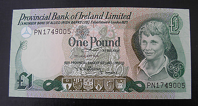 North Ireland 1979 1 Pound Note P247 UNC