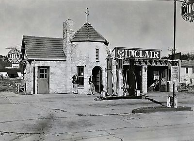 Sinclair H-C Gas Station Stone Gas Station Emerald Auto Oil Sign
