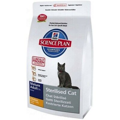 HILL S science plan mature adult 7+ sterilised cat  secco pollo kg .1,5