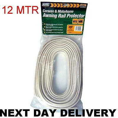 New 12M Long Caravan Awning Rail Protector Protection Cord Strip Keep Clean