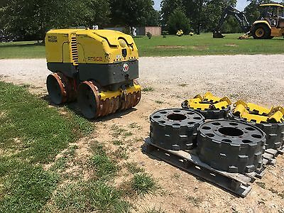 """2010 Wacker Neuson Rtsc2 Vibratory Remote Controlled Trench Roller """"432 Hours"""""""