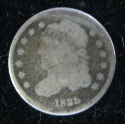 1835 U.s Capped Bust Half Dime 5 Cent Coin