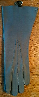 Vintage Beautiful Gray Crescendoe Gloves New With Tag ~ Size Small