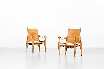 Safari Chairs by Kaare Klint for Rud Rasmussen, 1950s Danishdesign