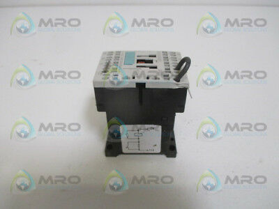 Siememns 3Rh1122-2Kf40-0La0 Control Relay (As Pictured) *used*