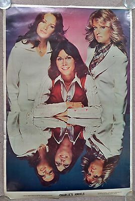 """1976 Charlie's Angel Poster - 34"""" x 23"""""""