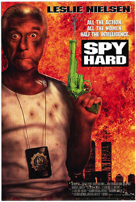 Spy Hard style 2 1996 double sided one sheet - 27x40 rolled - free shipping