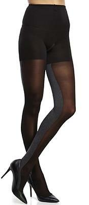 New w/t Tags - $32.00 SPANX Heathered Contrast Tight-End Tights Women's Size B