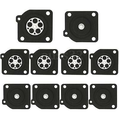10pcs Gasket Metering Diaphragm Rebuilt Kit For Replaces ZAMA C1U A015010