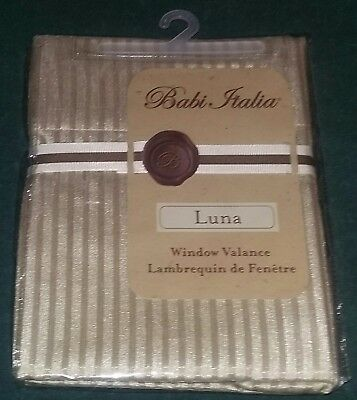 "NEW KidsLine Babi Italia ""Luna"" Baby Nursery Decorative Window Valance/Curtain"