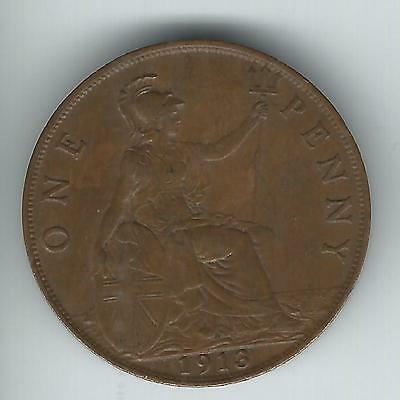 Great Britain One Penny 1913 XF