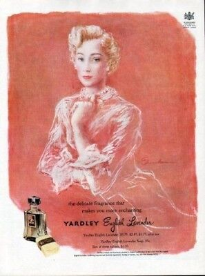 1949 Yardley Edmondson Lavender Perfume Fashion Queen 6897