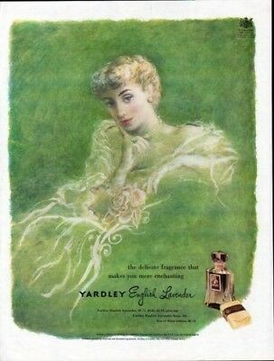 1949 Yardley Edmondson Lavender Perfume Fashion Queen X6894