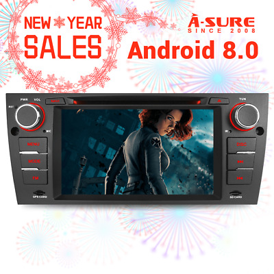 "A-Sure Android 7.1.2 DVD 7"" GPS DAB+ Autoradio für BMW 3 Series E90 E91 E92 E93"