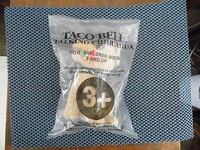 TACO BELL Talking Chihuahua Mint in Package