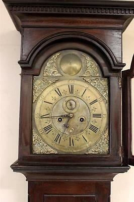 Antique Grandfather Longcase Clock George Ii C1740 By Samuel Washbourne